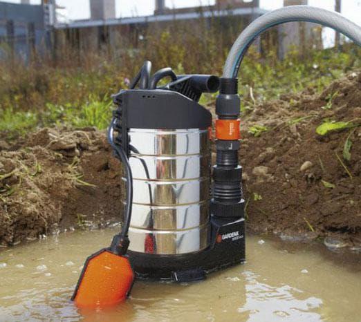 Выбираем насос для грязной воды